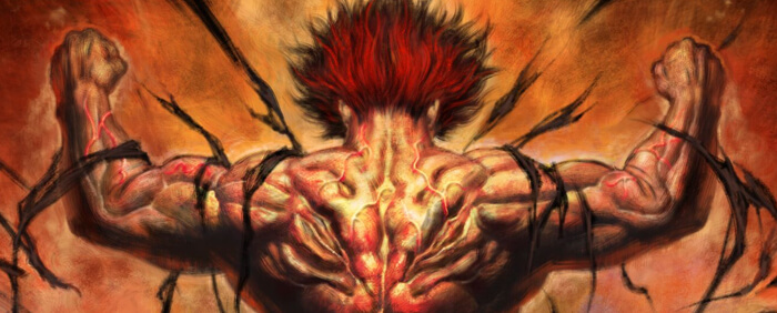 Netflix anime Baki The Grappler